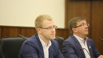 Daugavpils pilsētas mērs Andrejs Elksniņš