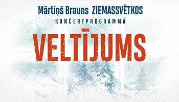 """Mārtiņa Brauna Ziemassvētku koncertprogramma """"Veltījums"""""""