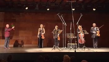 """""""Artemis Quartett"""" Bēthovena un Vaska mūzikā Dzintaru koncertzālē"""
