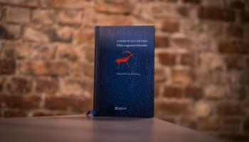 """Andrusa Kivirehka fiktīvā Oskara Kallisa dienasgrāmata """"Zilais, ragainais dzīvnieks"""""""