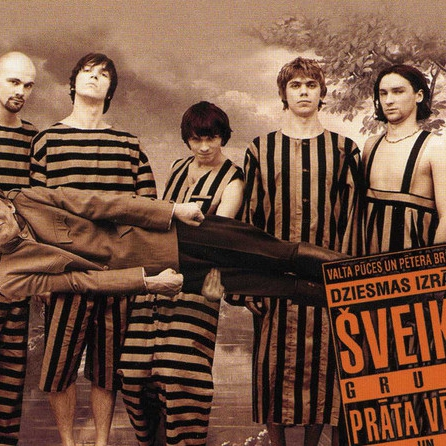 """# 140  V.Pūce, P.Brūveris, Prāta Vētra, A.Skrastiņš: dziesmas izrādei """"Šveiks"""" (1998)"""
