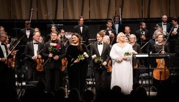 """Opermūzikas koncerts """"Draugi - Andrejam Žagaram"""" koncertzālē """"Cēsis"""""""