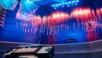 """Koncertzāles """"Latvija"""" arhitekti: Esam īstenojuši ļoti progresīvas enerģijas konceptu"""