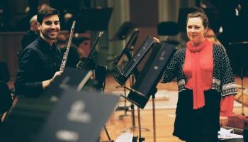 """LNSO koncerts """"Mocarts, Ķeniņš un Čaikovskis"""" Lielajā ģildē"""