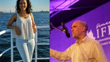 Līdzcilvēku pieredze Latvijā. Stāsta Gabriela Pineda Barrientos un Manuels Fernandezs