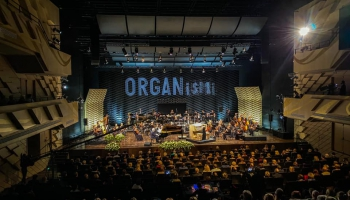 Iveta Apkalna, Raimonds Pauls un LNSO festivālā ORGANismi Latgales vēstniecībā GORS