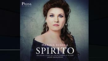 """Jūlijas ārija no Spontīni """"Vestālietes"""" un Marinas Rebekas jaunākais albums """"Spirito"""""""