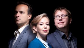 Dace Zālīte-Zilberta un Mārtiņš Zilberts iepazīstina ar LNSO klavieru trio jauno programmu