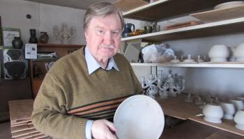 """Boņuku"""" par myuža īguļdejumu sajims keramiks Voldemārs Voguls"""