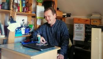 Latvijas Radioteātra producents, rakstnieks Dzintars Tilaks