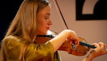 """Vijolniece Kristīne Balanas: """"Karajana akadēmija"""" ir ģeniāls projekts!"""