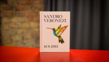 """Romāns """"Kolibri"""" zināmā mērā Sandro Veronēzi darbu kvintesence"""