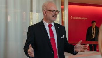 Наш гость - президент Латвии