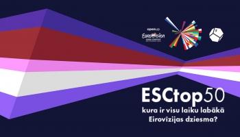 Sākusies balsošana par visu laiku labāko Eirovīzijas dziesmu!