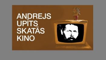 """Aicina uz kino vakaru Andreja Upīša memoriālajā muzejā """"Andrejs Upīts skatās kino"""""""