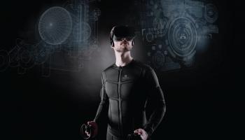 Teslas tērps ļaus rokās sajust VR objektus