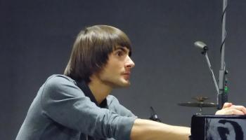 """Vestards Šimkus un """"Peldošās zvaigznes"""" no cikla """"Sapņu ainas. Deviņas etīdes klavierēm"""""""