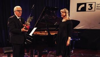 Maestro Raimonda Paula solokoncerts Latvijas Radio 1. studijā