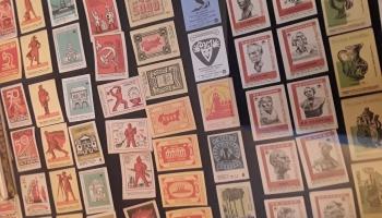 Sērkociņu kastīšu etiķešu un putnu olu kolekcijas Viļakas novada muzejā