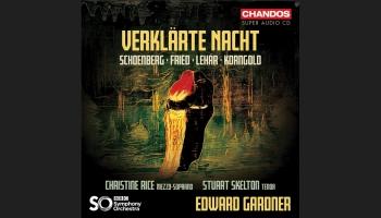 """F. Lehāra, O. Frīda, A. Šēnberga un Ē. V. Korngolda mūzika albumā  """"Verklärte Nacht"""""""