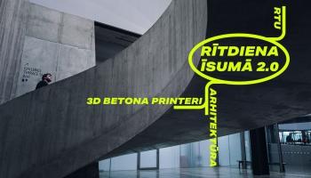 Izdrukāt māju: kā RTU izveidoja 3D betona printeri?