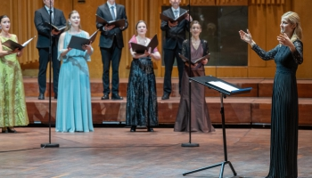 Kristas Auderes uzvara Ērika Eriksona jauno diriģentu konkursā. Reportāža no Stokholmas