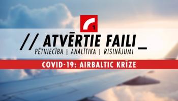 """#01 """"airBaltic"""" krīze: Ko Latvijas ekonomikai nozīmē uzņēmuma dīkstāve"""