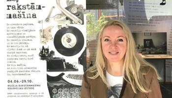 У каждого есть свой почерк: открыта выставка печатных машинок латвийских литераторов