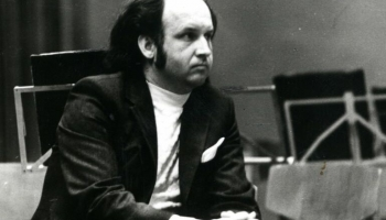 Dambja Koncerts balsij, flautai un kamerorķestrim (1977) - drosmīgi rakstīts darbs