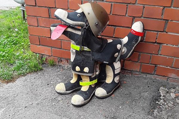 Nopietni un humora pilni stāsti Jelgavas ugunsdzēsības muzejā