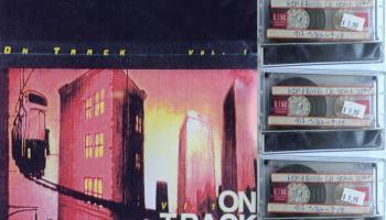 """Turpina šņākt plašu racēju Kon & Amir miks kasete """"On track"""" vol 1. b puse"""