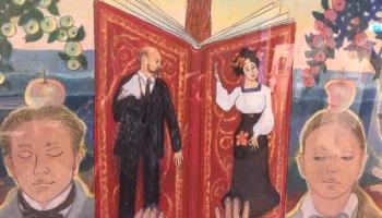 Ieva Jurjāne zīmējumos muzeja eksponātus spējusi pacelt mākslas domas augstumā
