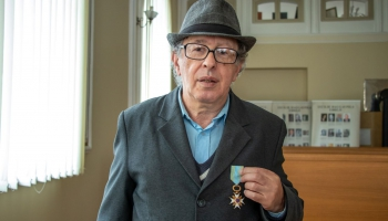 Triju Zvaigžņu ordeņa kavalieris Josifs Ročko nenogurst strādāt ebreju kopienas labā