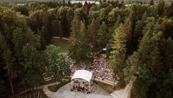 Neikenkalna dabas koncertzālē - koncerts Uģa Brikmaņa piemiņai