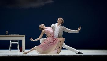Hamburgas baleta vadošā soliste - latviete Anna Laudere