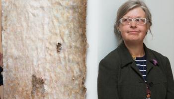 """Tatjanas Krivenkovas jaunākā personālizstāde """"Veltījums slaveniem gleznotājiem. Ravēšana"""""""