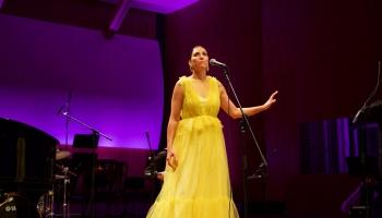 """Aija Vītoliņa un """"Tango Sin Quinto"""" festivāla """"Windstream"""" koncertā """"Pjacolla Parīzē"""""""