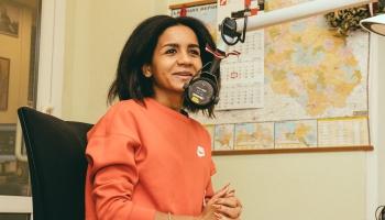 Spilgtā dziedātāja un dziesmu autore Aminata