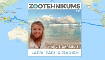 Kārlis Bardelis: laivā pāri okeāniem