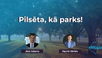 Pilsēta kā parks