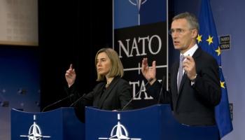 NATO un ES vienojušās par ciešāku sadarbību vairākos aspektos