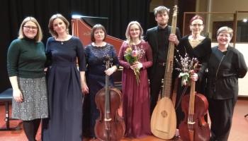 """Eiroradio tiešraidē - """"Riga Baroque Ensemble"""" koncerts Latvijas Radio I studijā"""
