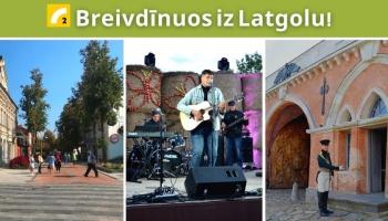 """Rīgas ielas svētki, spīdvejs Daugavpilī, dzejas un mūzikas festivāls """"Upītes uobeļduorzs"""""""
