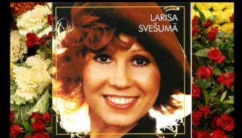 Sveicam dziedātāju Larisu Mondrusu 75. jubilejā!