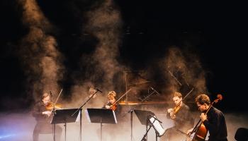 """""""Quadra"""" un Konstantīns Paturskis Ventspils koncertzālē """"Latvija"""""""