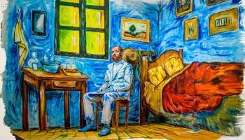 Оживившая Ван Гога: гример Елена Пидяш