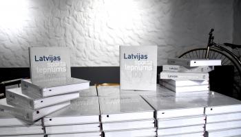 """Izdota grāmata  """"Latvijas sporta lepnums 100"""""""