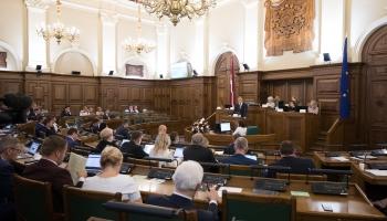 В Сейме начались дебаты о бюджете на будущий год