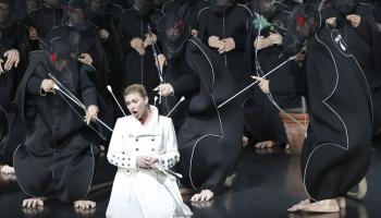 """Riharda Vāgnera opera """"Loengrīns"""" un Andris Nelsons Baireitā, 2011"""