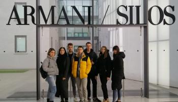 Topošie Daugavpils Saules skolas dizaineri darba pieredzē Itālijā